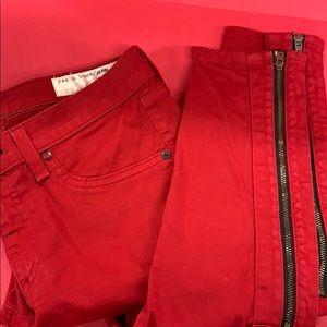 RAG & BONE Red Jeans 27